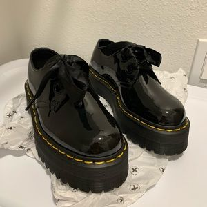Dr Martens HOLLY Black Patent